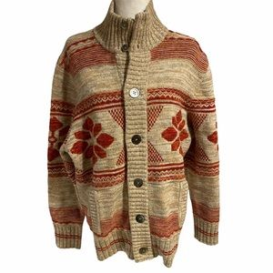 Scott James lambswool blend ski sweater